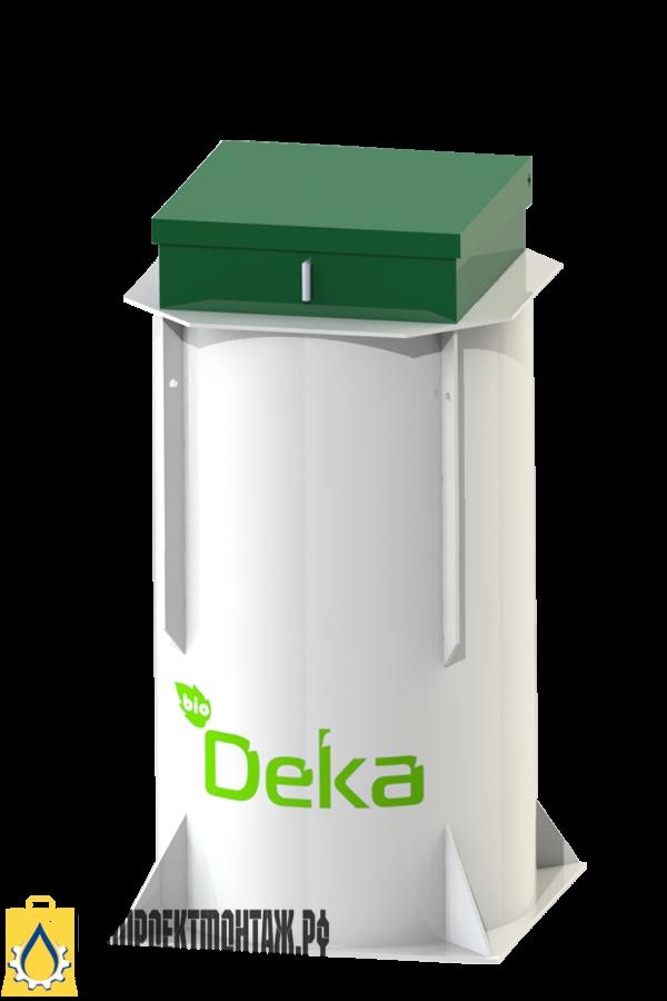BioDeka-8 п-1300-Автономная канализация для дачи БиоДека