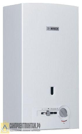 Bosch WR 13-2P (пьезорозжиг) газовый проточный водонагреватель