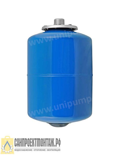 Гидроаккумулятор Unipump 8 л вертикальный