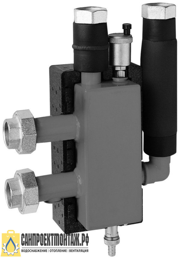 Гидрострелка Meibes 25 (Майбес) ME 66391.2 (2 м3/час, 60 кВт при ΔТ=25 °С), DN 25