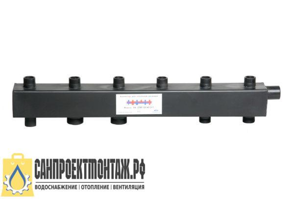 Коллектор распределительный для котла Дизайнсталь КК-25М/125/40/3+2 контура