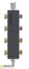 Коллектор распределительный для котла GEFFEN МКС 70 3 контура со встроенным гидравлическим разделите