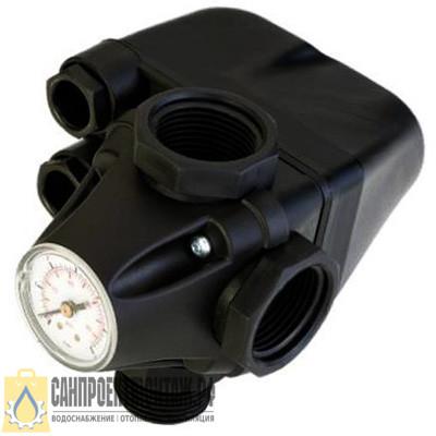 Реле давления со встроенным манометром Unipump PM/5-3W