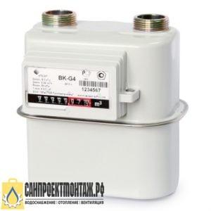Счетчик газа ВК-G 4Т