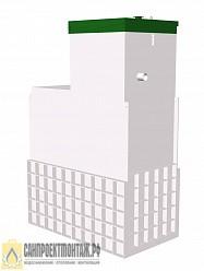 Септик ТОПАС 10 Long станция очистки для частного дома