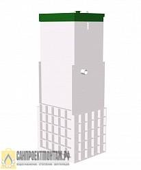 Септик ТОПОЛ-ЭКО ТОПАС 6 Long Пр канализация для частного дома