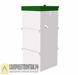 Септик ТОПОЛ-ЭКО ТОПАС-С 8  для загородного дома