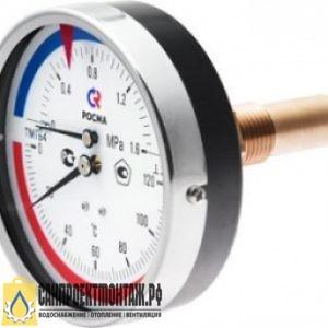 TeрмоMанометрТМТБо(80мм)+150гр Ру-1,6 МПа (Осевой)