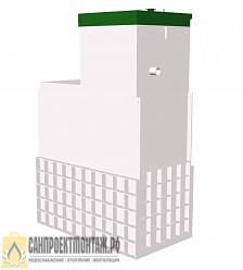 ТОПОЛ-ЭКО ТОПАС 12 Long-Автономная канализация для дома