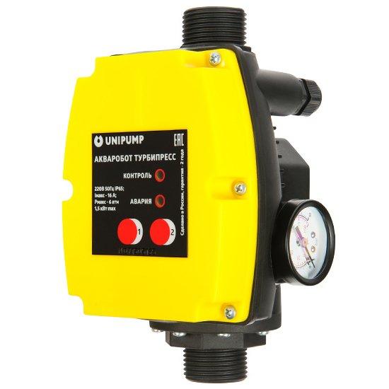Блок управления насосами: Unipump ТУРБИПРЕСС 1,5 кВт (NEW)