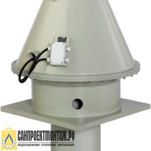 Центробежный вентилятор: Systemair DVP 400D4-8-L roof fan plastic