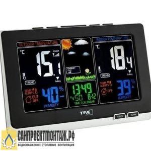 Цифровая метеостанция с радиодатчиком: TFA 35.1129.01