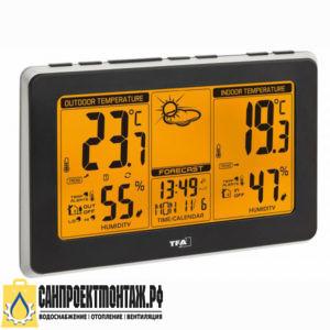 Цифровая метеостанция с радиодатчиком: TFA 35.1151.01