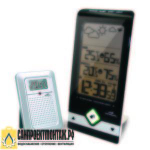 Цифровая метеостанция с радиодатчиком: Wendox W9731+6726