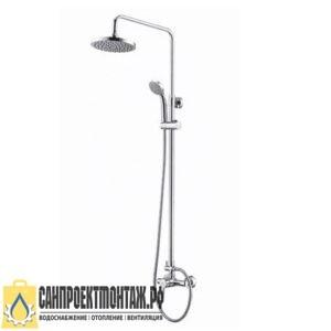 Душевой комплект со смесителем для ванны WasserKRAFT А12202 96/133х57 см
