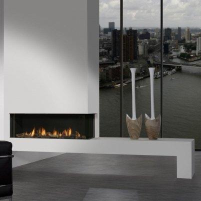 Газовый камин: Faber Duet PR XL