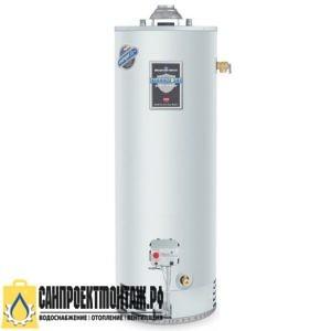 Газовый накопительный водонагреватель: Bradford White RG250S6N
