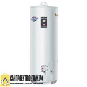 Газовый накопительный водонагреватель: Bradford White RG275H6N