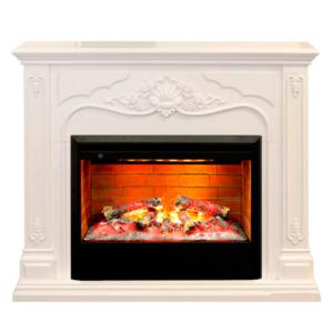 Электрокамин (очаг+портал): Real-Flame Victoria 26 WT с очагом 3D Helios 26