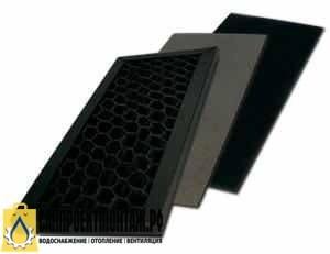 Комплект фильтров для очистителя воздуха: Атмос ВЕНТ-1103 Комплект фильтров