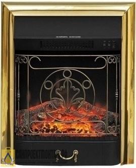Очаг электрокамина: Royal Flame Majestic FX Brass