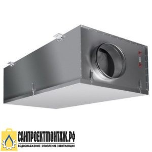 Приточная вентиляционная установка: Shuft CAU 3000/1-6,0/2