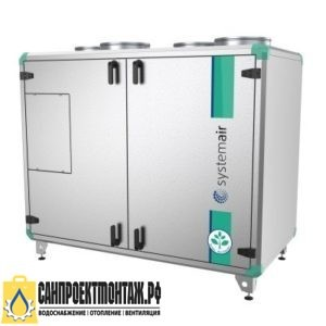 Приточно-вытяжная вентиляционная установка: Systemair Topvex TX/C04 HWL-L