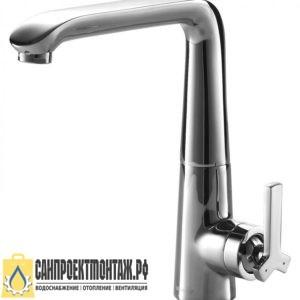 Смеситель для кухни Bravat Waterfall F773107C-1 (Хром)