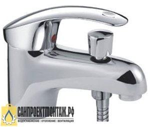 Смеситель для раковины с душ.лейкой Frap H21 F1221 40 мм