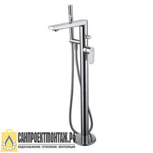 Смеситель напольный для ванны WasserKRAFT Dinkel 5821 хром