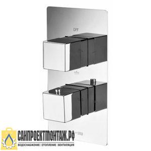 Термостатический смеситель для ванны и душа WasserKRAFT АIme 1544, хром
