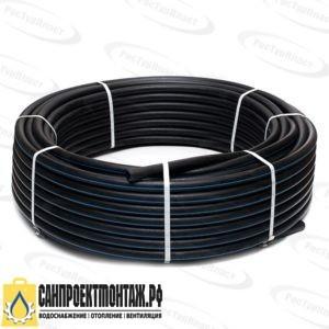 Труба ПЭ80 50х3,7 PN10 SDR 13,6 (100)