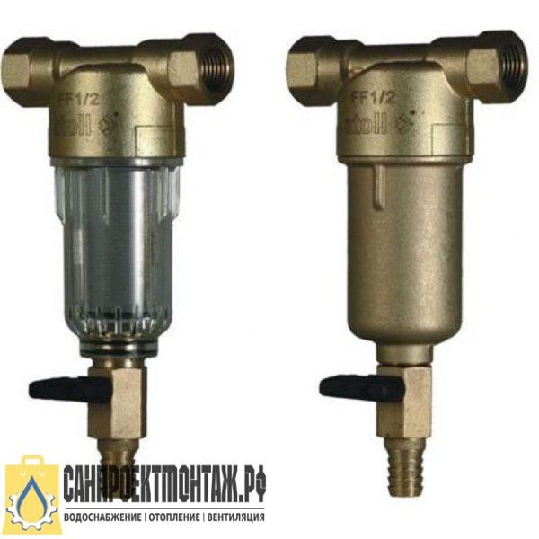 Магистральный фильтр для очистки воды: Atoll AFF-1/2CM