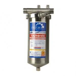 Магистральный фильтр для очистки воды: Гейзер Тайфун 10ВВ