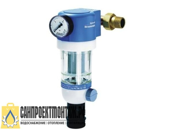 Магистральный фильтр для очистки воды: Honeywell Сетчатый фильтр F74C-1 1/4 AD 200mk
