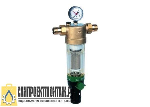 Магистральный фильтр для очистки воды: Honeywell Сетчатый фильтр F76CS-1 1/4 AB 20mk