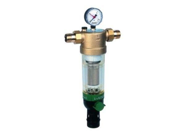 Магистральный фильтр для очистки воды: Honeywell Сетчатый фильтр F76S-1/2 AA