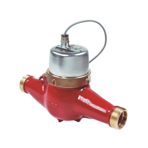 Домовой водосчетчик Zenner MTW-I (гор. вода, импульсный) Dn15