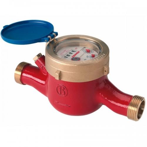 Домовой водосчетчик Zenner MTW-N (гор. вода) Dn25