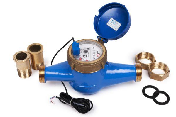 Groen DRC-20 (i) - Сухоходный счетчик холодной воды ДУ 20 мм с импульсным выходом