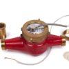 Groen DRH-25 (i) - Сухоходный счетчик горячей воды ДУ 25 мм с импульсным выходом