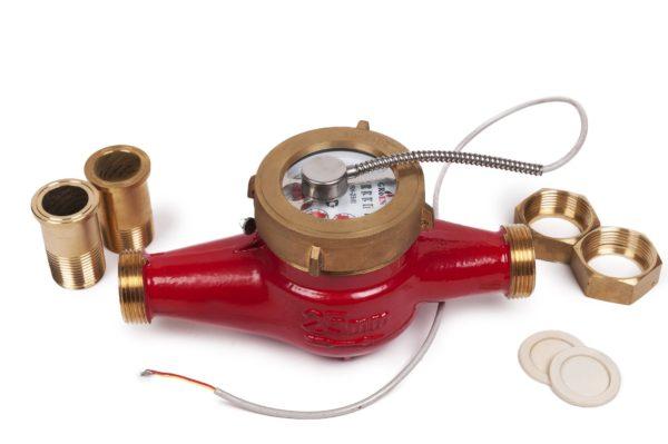Groen DRH-50 (i) - Сухоходный счетчик горячей воды ДУ 50 мм с импульсным выходом