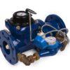 Groen DUAL-80 (BYi) - Комбинированный (с обводной линией) счетчик холодной воды ДУ 80 мм с импульсным выходом