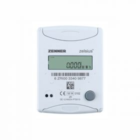 Квартирный теплосчетчик  Zenner Multidata S1-1 Zelsius CMF Dn20 Qn2.5, ОТ(обр. труб.)