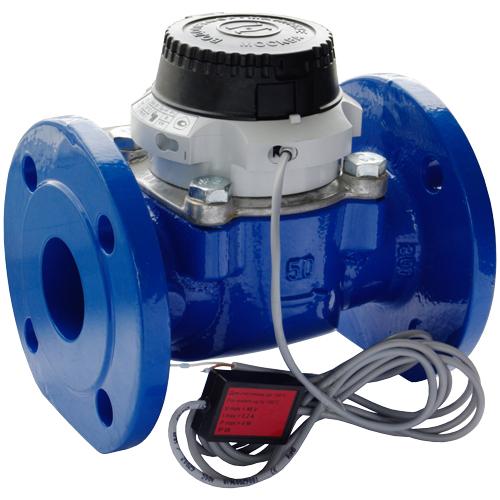 Промышленный турбинный водосчетчик Zenner WPH-K-I (хол. вода, импульсный) Dn125