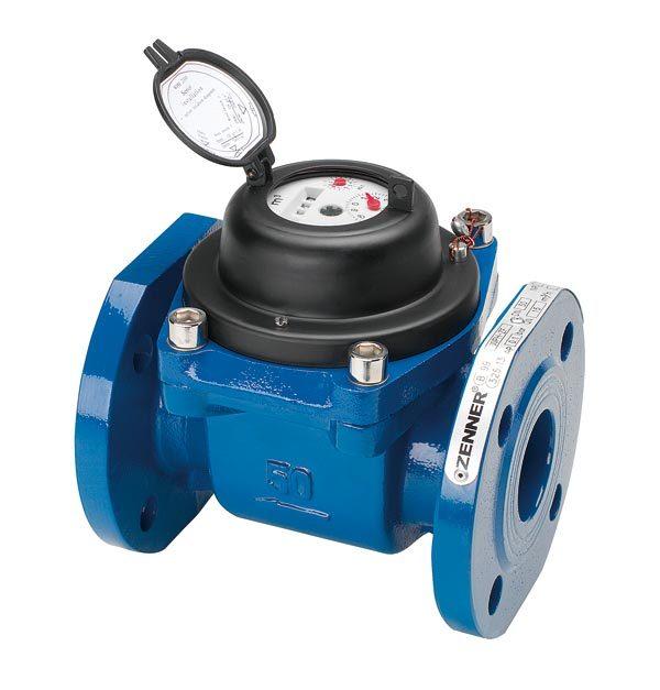 Промышленный турбинный водосчетчик Zenner WPH-N-K (хол. вода) Dn150