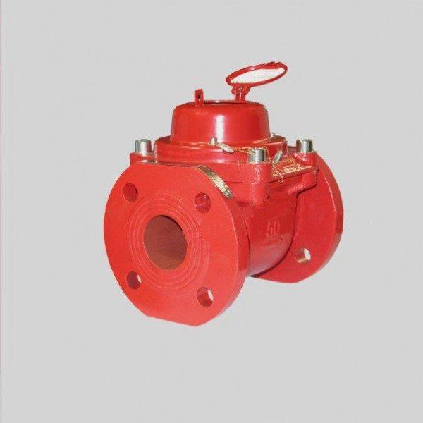 Промышленный турбинный водосчетчик Zenner WPH-N-W (гор. вода) Dn65