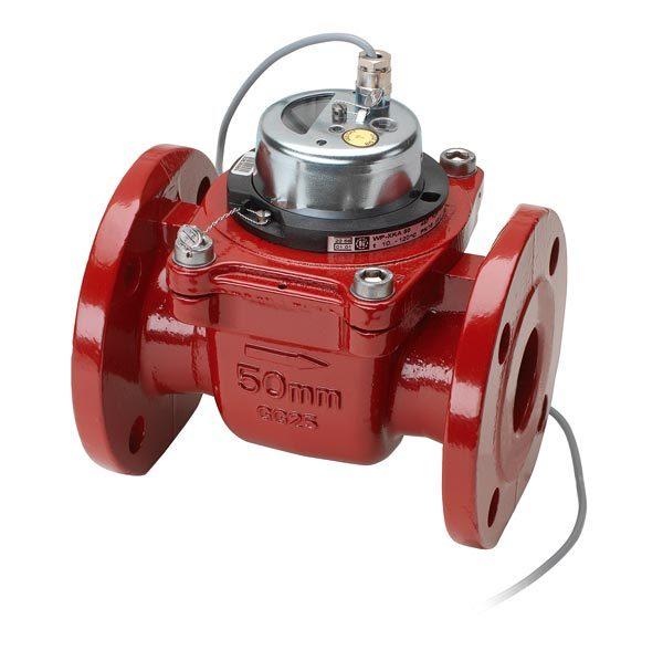 Промышленный турбинный водосчетчик Zenner WPH-W-I (гор. вода, импульсный) Dn100
