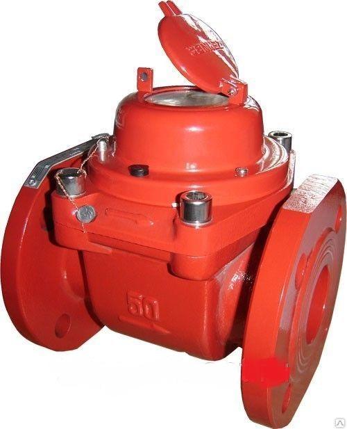 Промышленный турбинный водосчетчик Zenner WPH-W-I (гор. вода, импульсный) Dn80