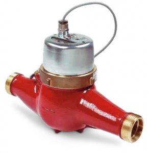 Счетчик для отопления Zenner MTH-I  (импульсный) Dn25 резьб.